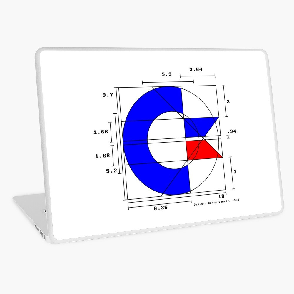 the almighty C (light) Laptop Skin