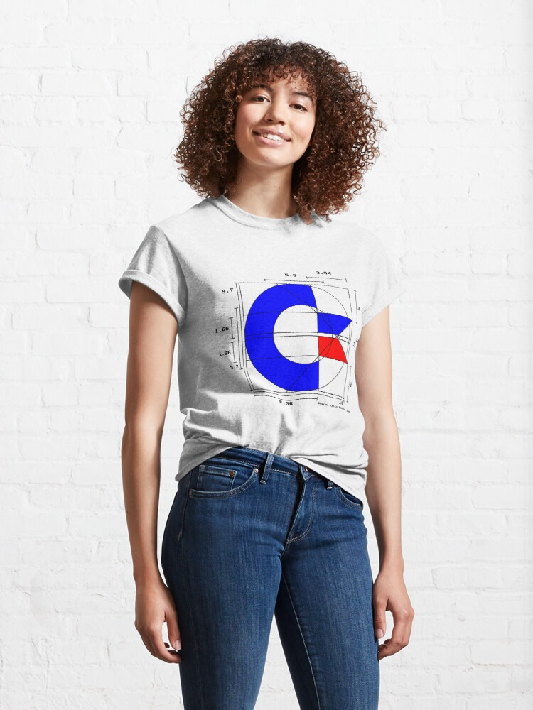 Alternate view of the almighty C (light) Classic T-Shirt