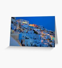 Thira Greeting Card