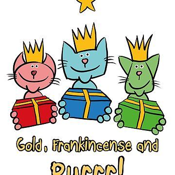 Christmas – Three Wise Cats by madra
