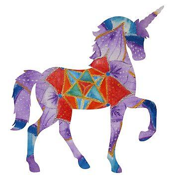 Unicorn Mandala Art de Manitarka