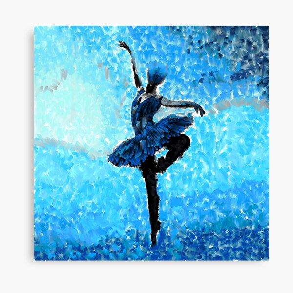 Ballerina in The Winter  Canvas Print