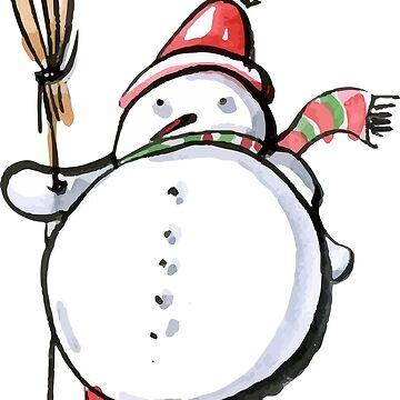 Snowman by silemhaf