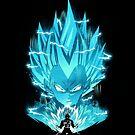Super Saiyan Blue by Dan Elijah Fajardo