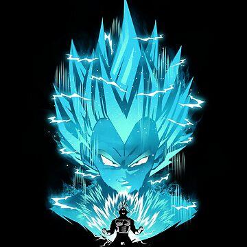 Super Saiyan Blue by dandingeroz