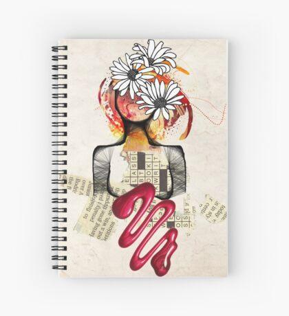 Scribble my world Spiral Notebook