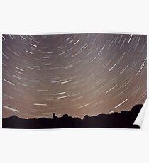 Warrumbungle Stars. Poster