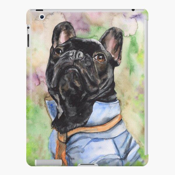 French Bulldog watercolor art from George Dyachenko  iPad Snap Case