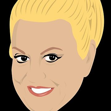 Kim Woodburn by gregs-celeb-art