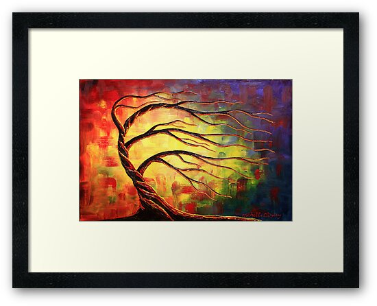 A Glow in the Wind by Abstract D'Oyley