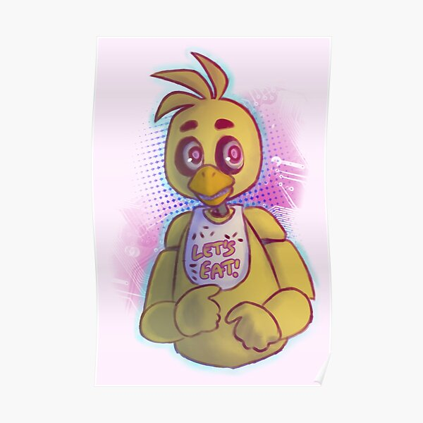 Fnaf chica in panties and socks Chica Posters Redbubble