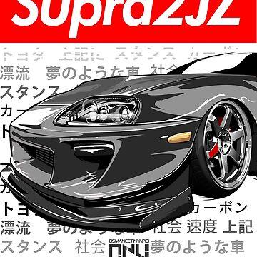 Toyota Supra MK4 2JZ (Gray) by osmancetinyapic