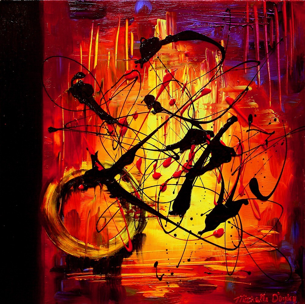 Mind Over Matter by Abstract D'Oyley