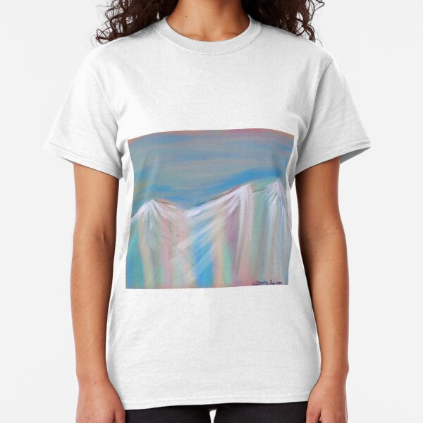 Pastels Of Mountains flowing Classic T-Shirt