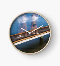 Hard Day's Work Clock