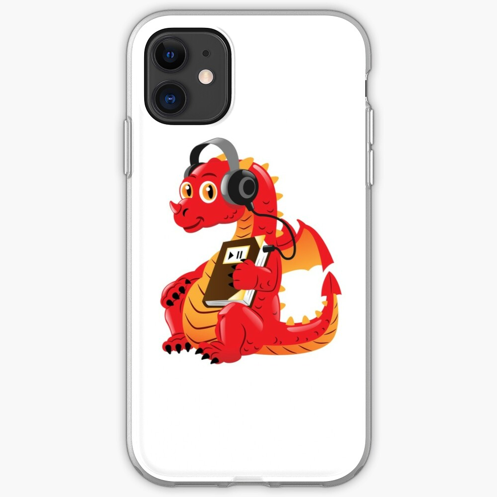 Audiobook Dragon iPhone Case & Cover