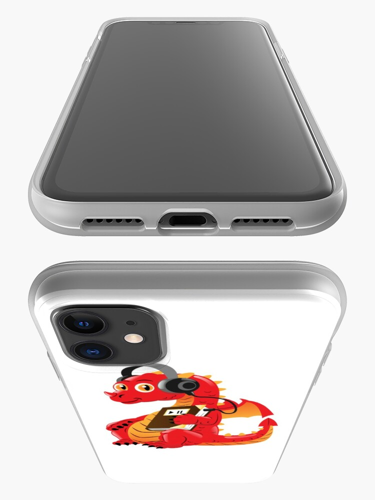 Alternate view of Audiobook Dragon iPhone Case & Cover