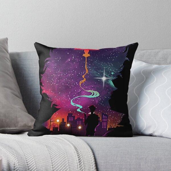 Space Cowboy Bebop Throw Pillow