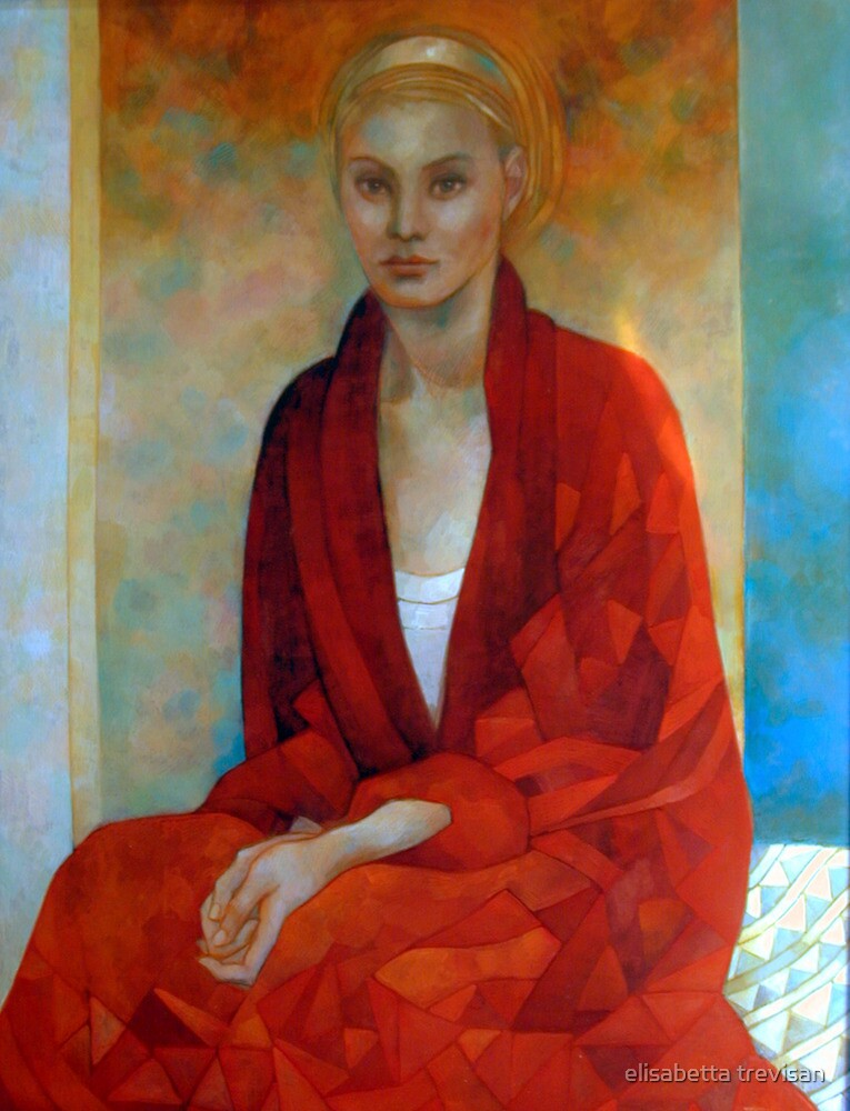 lady in red by elisabetta trevisan