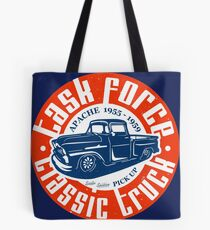 Task Force Apache Classic Truck 1955 - 1959 Tote Bag