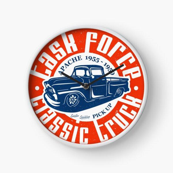 Task Force Apache Classic Truck 1955 - 1959 Clock