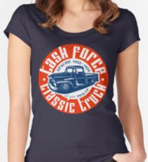 Task Force Apache Classic Truck 1955 - 1959 Tailliertes Rundhals-Shirt