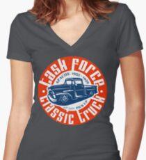 Task Force Apache Classic Truck 1955 - 1959 Tailliertes T-Shirt mit V-Ausschnitt