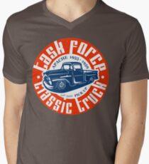Task Force Apache Classic Truck 1955 - 1959 T-Shirt mit V-Ausschnitt für Männer