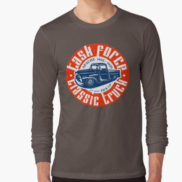 Task Force Apache Classic Truck 1955 - 1959 Long Sleeve T-Shirt