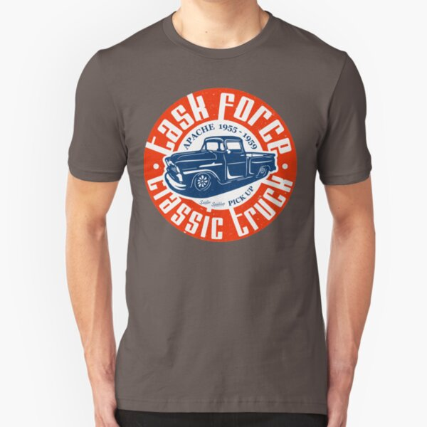 Task Force Apache Classic Truck 1955 - 1959 Slim Fit T-Shirt