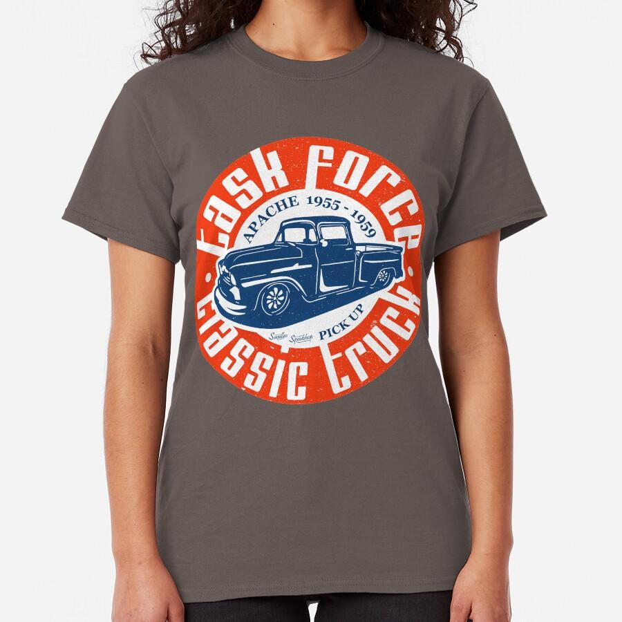Task Force Apache Classic Truck 1955 - 1959 Classic T-Shirt