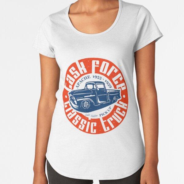 Task Force Apache Classic Truck 1955 - 1959 Premium Scoop T-Shirt
