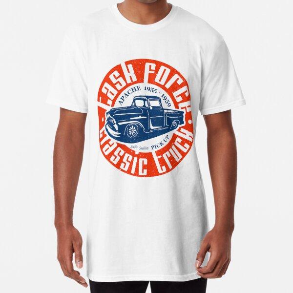 Task Force Apache Classic Truck 1955 - 1959 Long T-Shirt