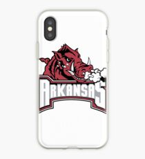Arkansas razorback pigleat iPhone Case
