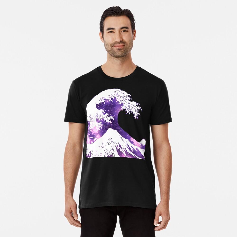 Große Welle Premium T-Shirt