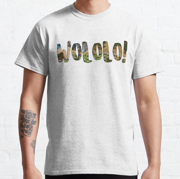 Age of Empires WOLOLO panoramico Camiseta clásica