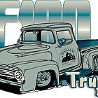 Ford F100 Truck Driver 1953 - 1956 by SAVALLAS
