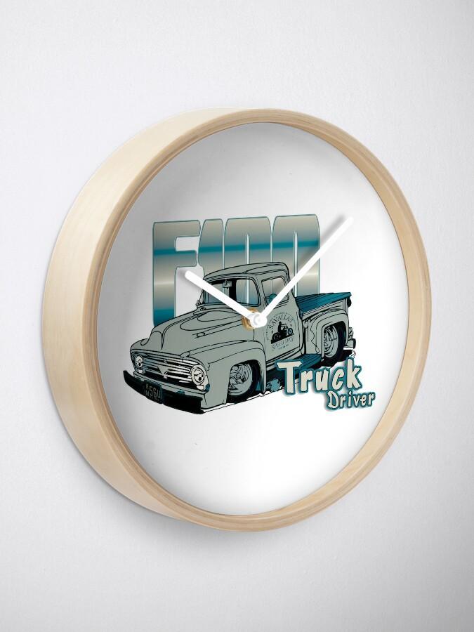 Alternative Ansicht von Ford F100 Truck Driver 1953 - 1956 Uhr