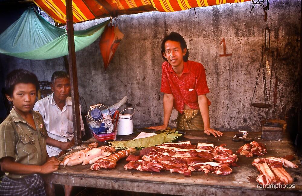 Rangoon Meat Market by randmphotos