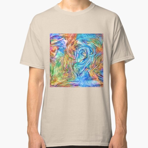 Abstract stream dreams Classic T-Shirt