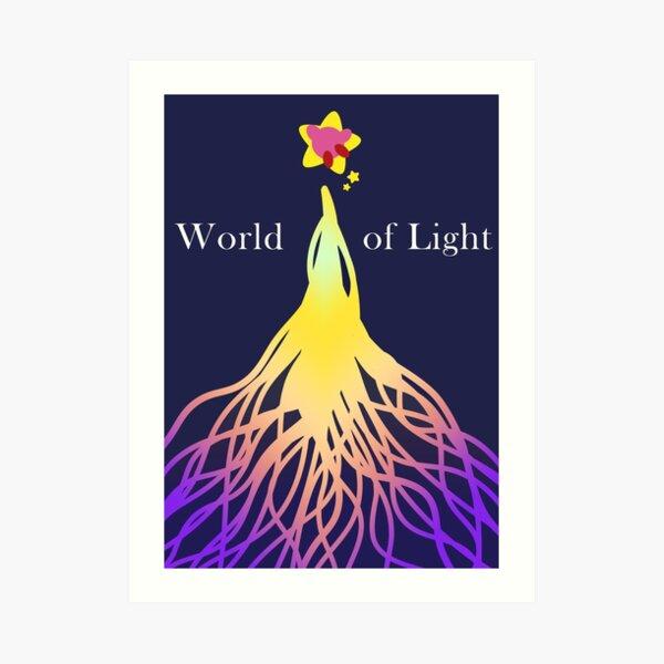 World of Light, Kirby Art Print