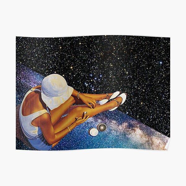 STAR BATHING. Poster