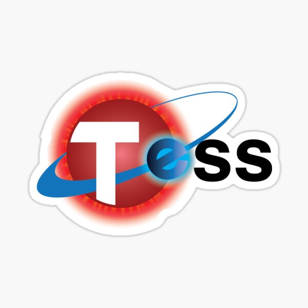Transiting Exoplanet Survey Satellite (TESS) Mission Logo Sticker