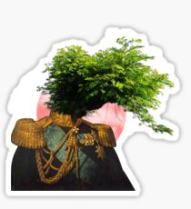 TREE MAN. Sticker