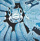 Hide in the Coral DEEP BLUE SEA by Mirjam Griffioen