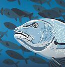 Hunter DEEP BLUE SEA by Mirjam Griffioen