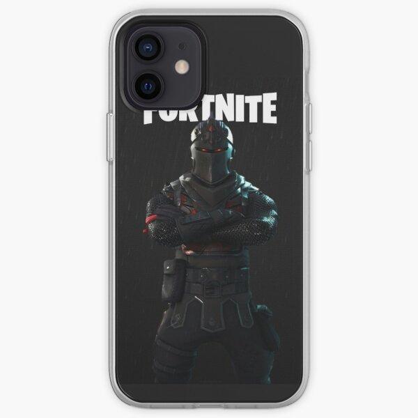 Coque Fortnite chevalier noir Coque souple iPhone