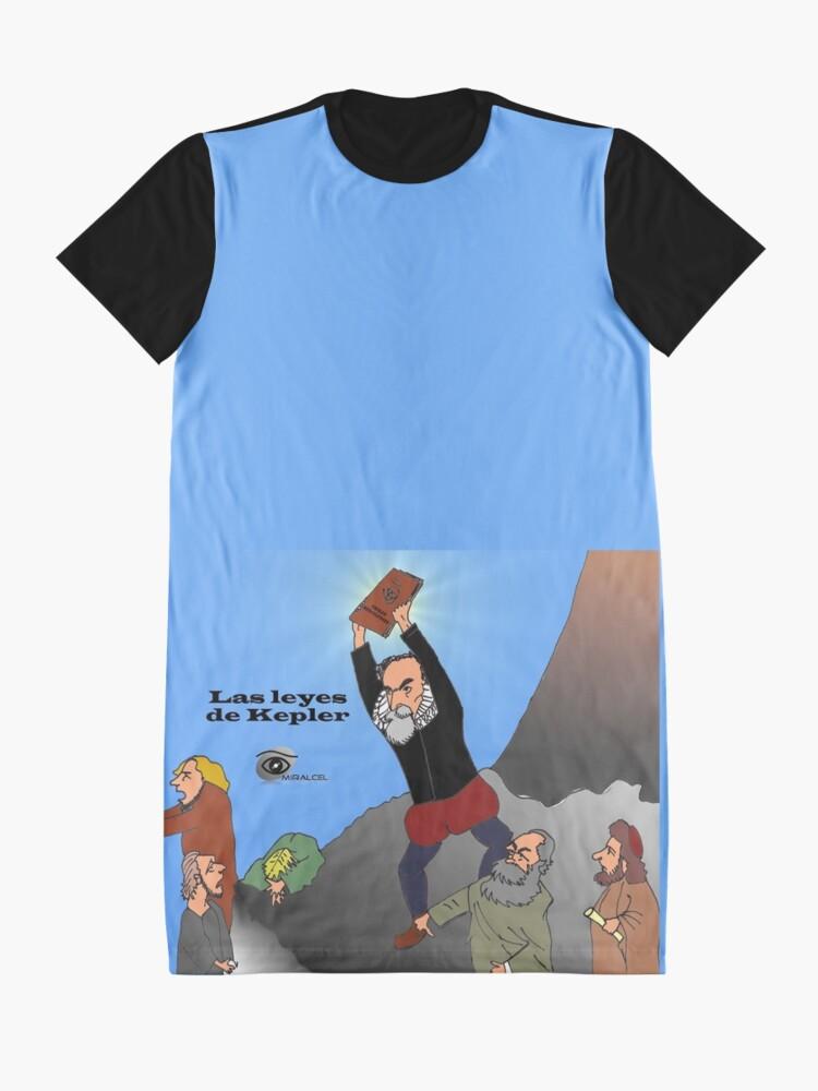 Alternate view of Kepler laws Graphic T-Shirt Dress