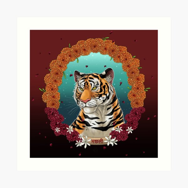 Machli - The Queen of Tigers Art Print