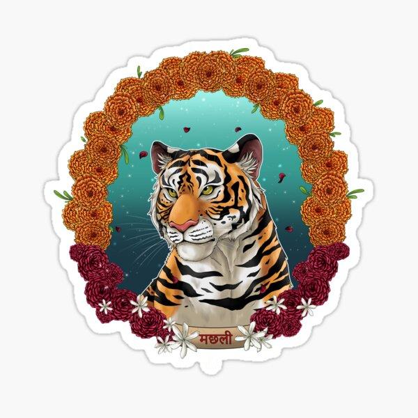 Machli - The Queen of Tigers Sticker